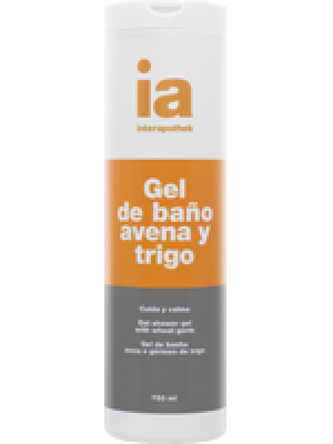 INTERAPOTHEK GEL DE BAÑO AVENA GERMEN DE TRIGO 750 ML