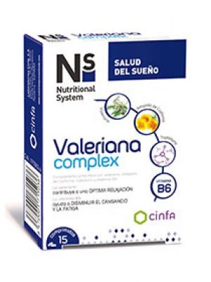 NS VALERIANA COMPLEX COMPRIMIDOS 15 COMPRIMIDOS
