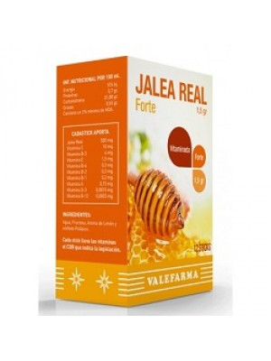 VALEFARMA JALEA REAL 1500 MG 12 STICKS 10 ML