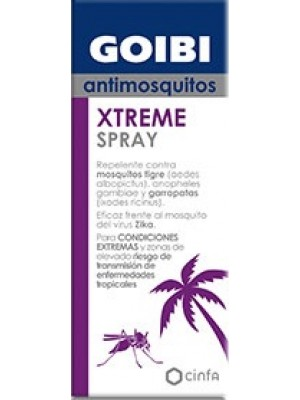 GOIBI XTREME SPRAY ANTIMOSQUITOS