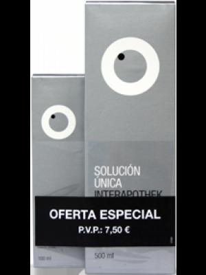 INTERAPOTHEK PACK SOLUCIÓN ÚNICA LENTILLAS  500ML + 100ML