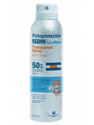 ISDIN PEDIATRICS TRANSPARENT SPRAY WET SKIN SPF 50+
